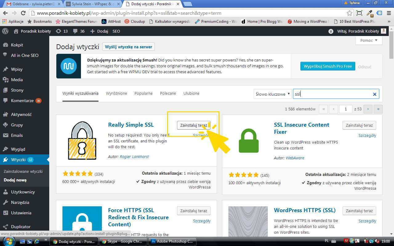 wtyczka Really Simple SSL