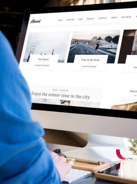 wybór motywu pod bloga