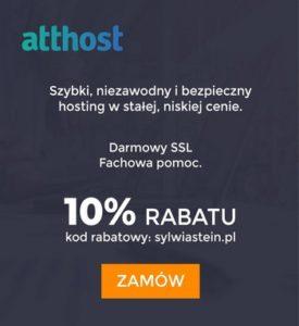 kod rabatowy atthost